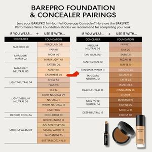 bareMinerals Makeup - Bare Minerals   BarePro Cashmere 06 SPF 20